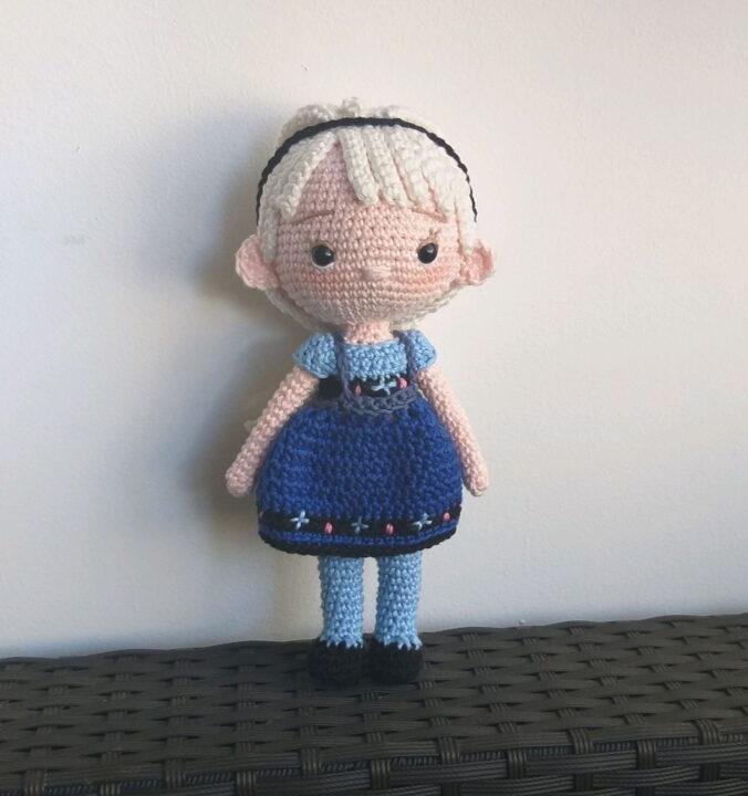 Elsa Frozen amigurumi