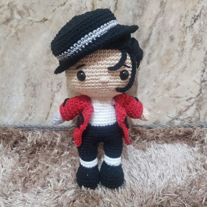 Michael Jackson little amigurumi
